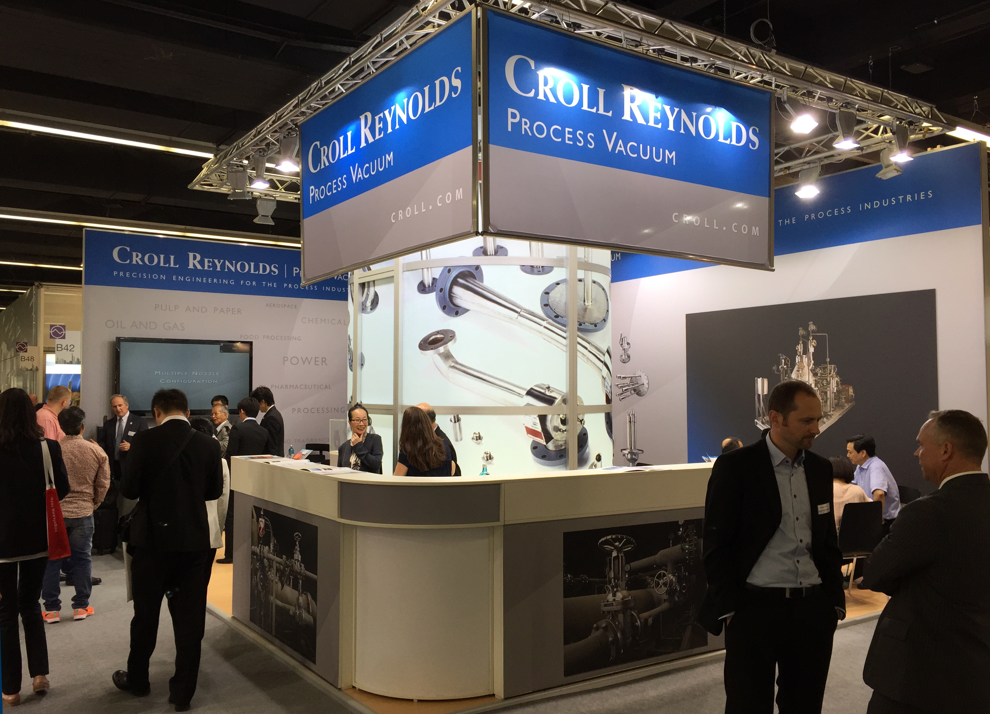 Croll booth at Achema