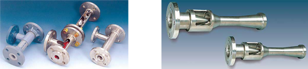 Water and gas operated ejectors